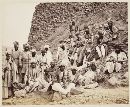 'Khyber Chiefs and Khans...', c 1878.
