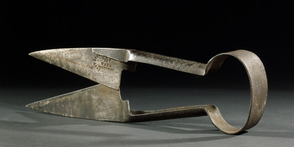 Steel sheep shears, 1880-1950.