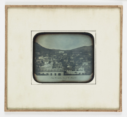 'View of Athens from the Eastern Base of the Acropolis', 1852.