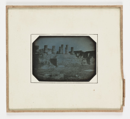 'Pompeii The Temple of Juipiter', 1847.