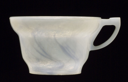 Polystyrene cup, 1945-1960.