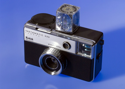 Kodak 'Instamatic 333', 126 cartridge camera, 1972.
