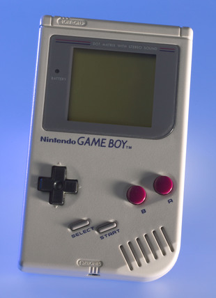 Nintendo 'Game Boy', 1989.