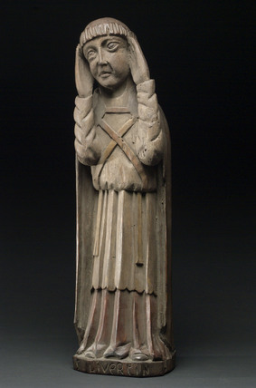 Statue of Saint Livertin, French, 1500-1750.
