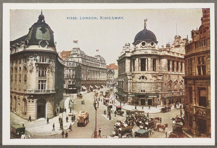 'London: Kingsway', c 1914.