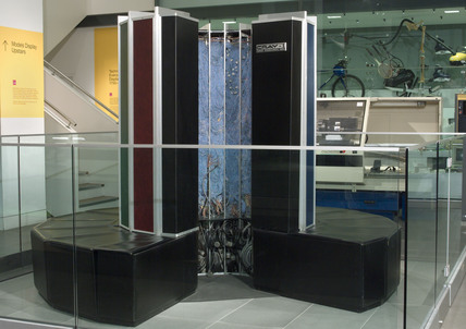Cray 1A supercomputer, serial number 11, c 1979.