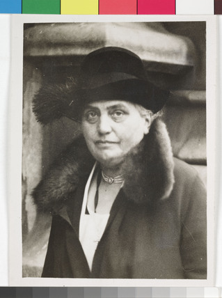 Eleanor Rathbone, British MP, 1931.