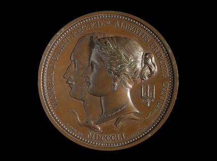 Great Exhibition medal, 1851.