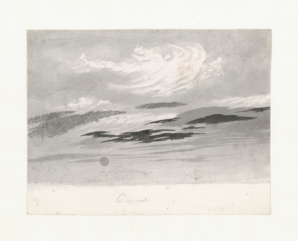 Light cirro-cumulus beneath cirrus, 1803-1811.