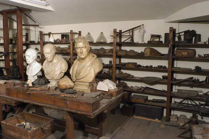 James Watt's garret workshop, 1790-1819.