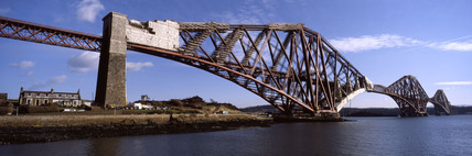 The Forth Bridge over the Firth of Forth, 2003.