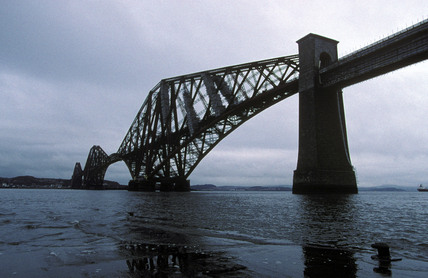 The Forth Bridge, over the Firth of Forth, 1997