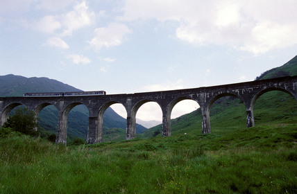 Glenfinnan Viaduct, 1997.