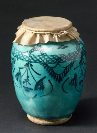 Drug jar, possibly Persian.