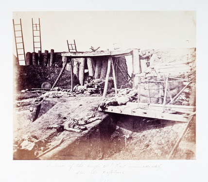 'Interior of the Angle N: Fort immediately after its capture', China, 21 August 1860.