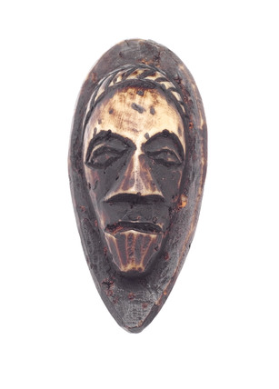 Amulet in the shape of a head, Zaire.