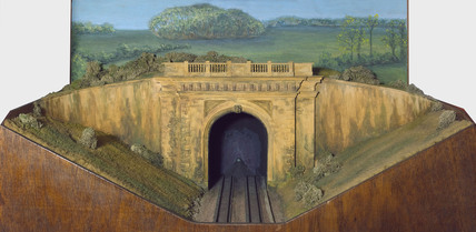 Portal of the Box Tunnel, 1841.