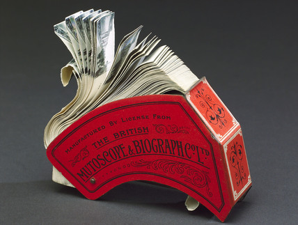 Short's 'Filoscope' flip book, 1897.