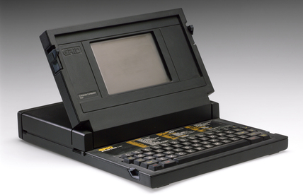 GRiD Compass laptop computer, 1982.