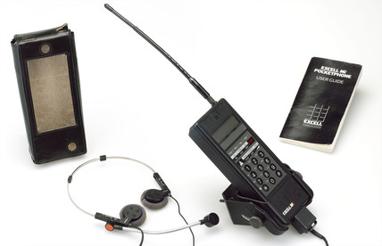 Excell Communications M2 pocket phone, c,1990's.