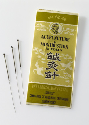 Chinese acupuntcture needles, 1970-1980.