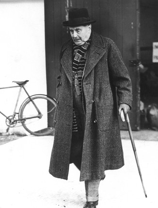 Herbert George Wells, British writer, 20 February 1939.