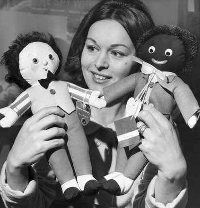 Old and new 'golliwogs', January 1966.