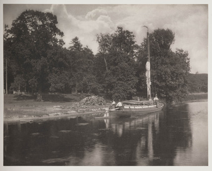 'The River Bure at Coltishall', 1886.