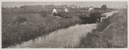 'The Sedge Harvest', 1887.