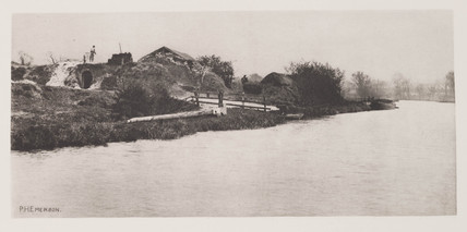 'Brickfield on the River Bure', 1888.