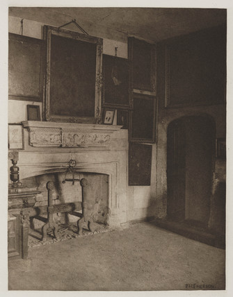 The Conspirator's Room, Old Rye House, 1888.
