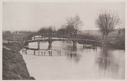 Footbridge near Cheshunt, 1888.