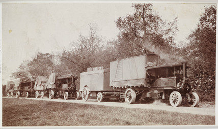 Steam lorries, 1914.
