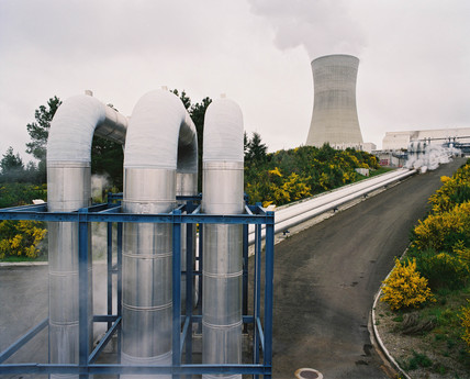Cooling tower, Ohaaki geothermal power station, New Zealand, 1995.