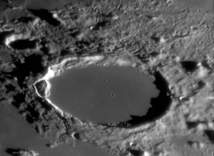 Plato Crater, 19 March 2005.