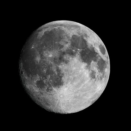 The Moon, 23 January 2005.