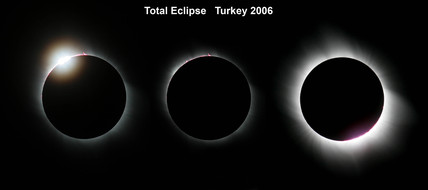 Total eclipse of the Sun, Turkey, 29 March 2006.