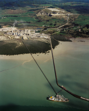 Portland Cement Works, Whangarei, New Zealand, June 1993.