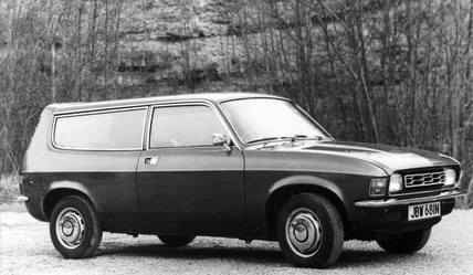 Austin Allegro estate, June 1975.