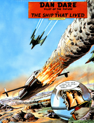 The Dan Dare Comic Strip Experience – Panel Two