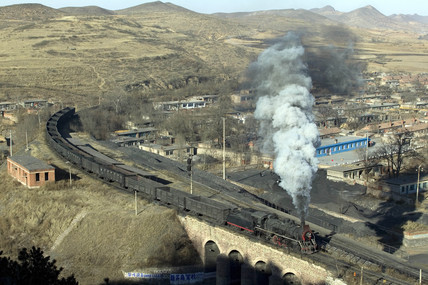Nanpiao Colliery Railway, Liaoning, China, 2004