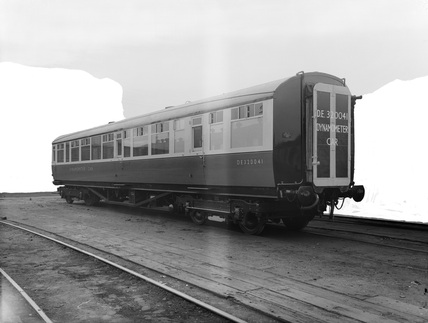 British Railway Eastern Region Dynamometer Car DE320041. England, 1951.