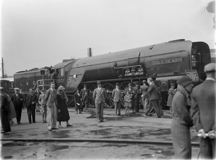 London and North East Railway (LNER) locomotive number 2001 'Cock o the North', 1935.