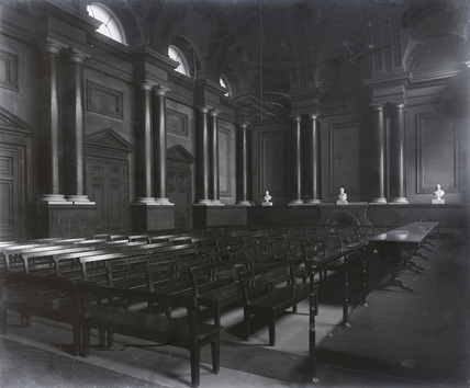 Shareholders Halfyearly Meeting Room. Euston, 1897.