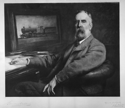 Portrait of Henry Alfred Ivatt (1851-1923).
