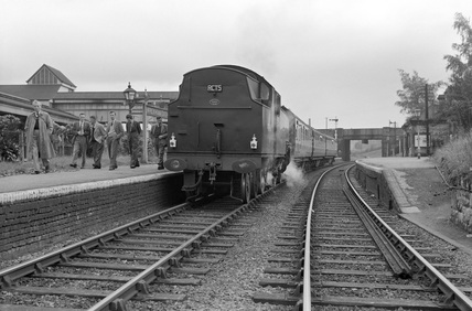 Wrexham Exchange Station, 1955.