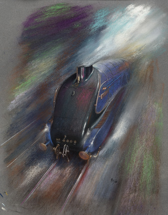 The Mallard at Speed, by Roy Wilson.