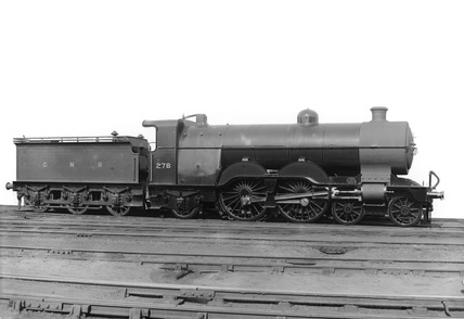 Locomotive no. 278. Great Northern Railway, class C1.
