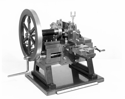 Shaping machine, c 1850.
