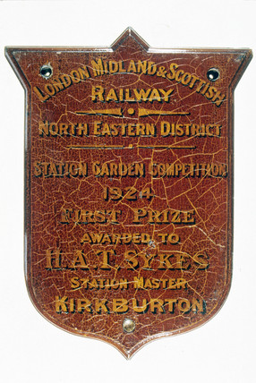 First Prize Shield, 1924. London, Midland a